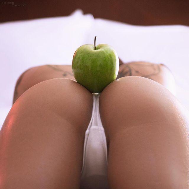 girlfriend-apple-butt-gallery