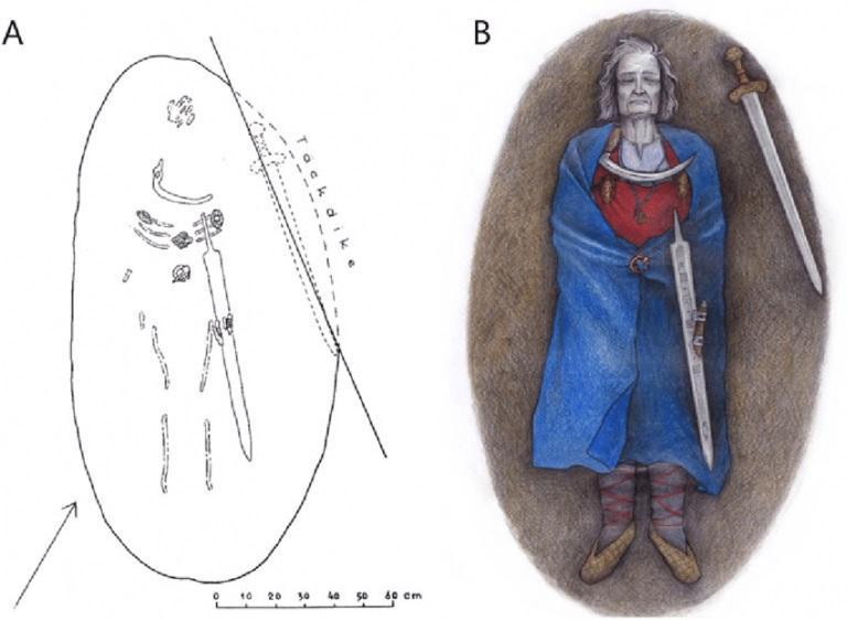 Останки женщины-воина из Финляндии принадлежали мужчине с дополнительной Х-хромосомой