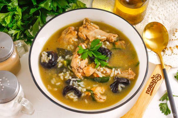 Суп «Кок-а-лики»